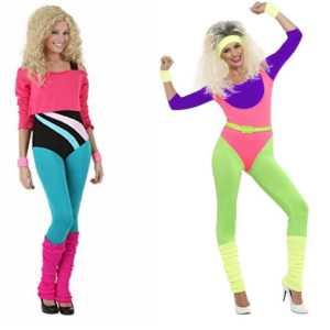 80s Workout Fashion