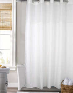 Best Shower Curtain | Hookless Shower Curtain by COMFECTO