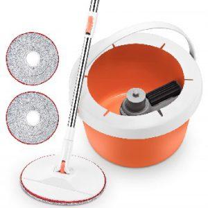 Homitt Spin Bucket Mop